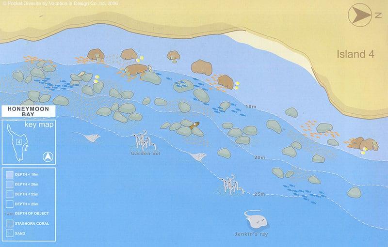 Honeymoon Bay Dive Site - Similan Islands Dive Sites