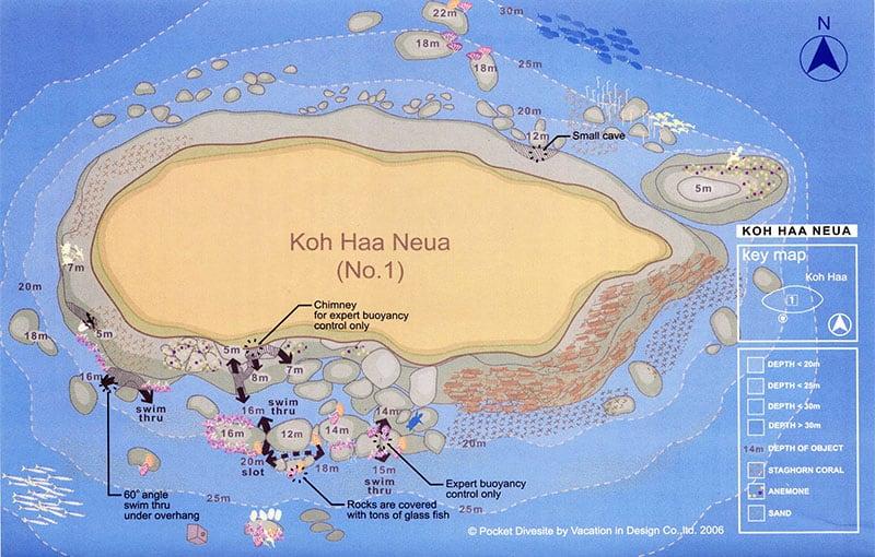 Koh Haa Neua Dive Site