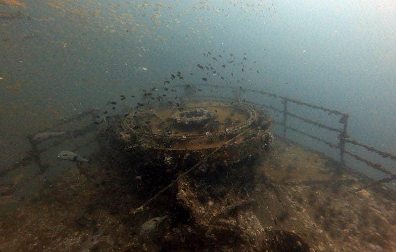 Phi Phi Diving Wreck