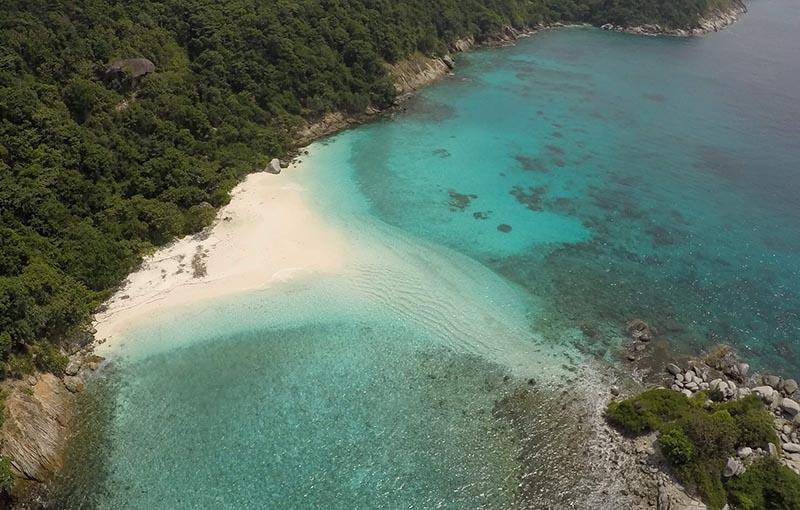Racha Noi Bay - Aerial