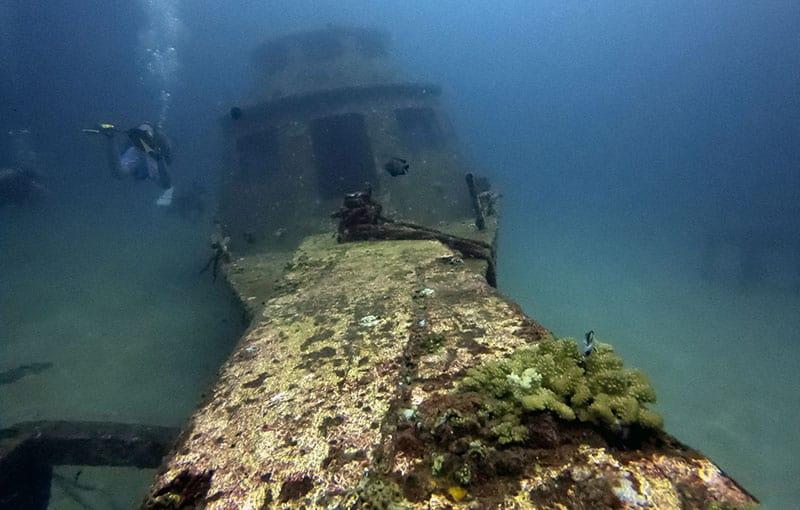Racha Yai Bay 1 - Harruby Wreck
