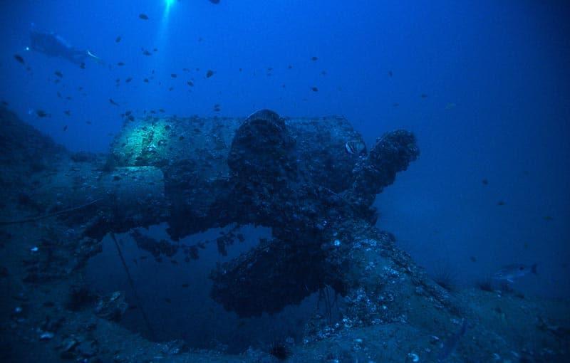 MV Sea Chart Wreck - Propeller