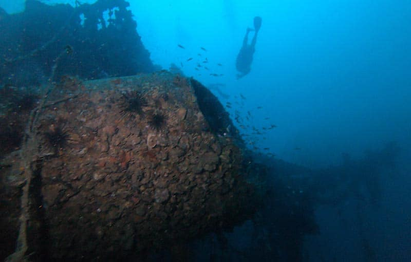 MV Sea Chart Wreck