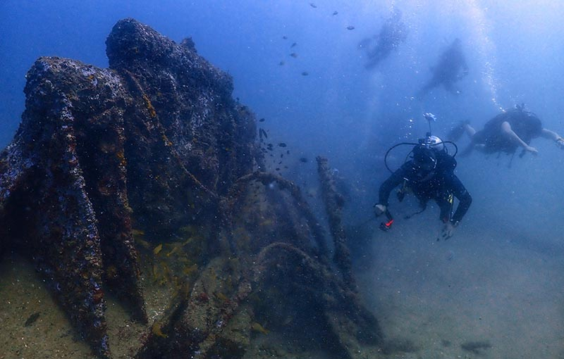 Premchai Wreck Diving Thailand