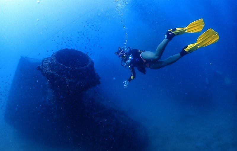Diving Premchai Wreck Thailand